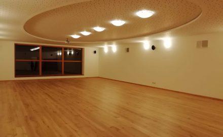 Tantrické masáže - hlavní sál