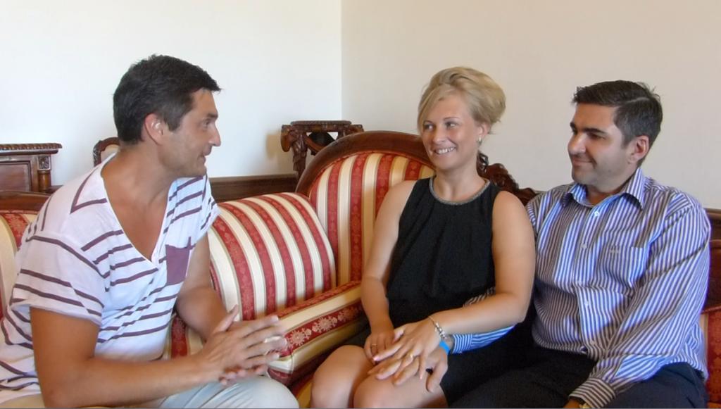 konzultace Jan a Katerina Komedovi